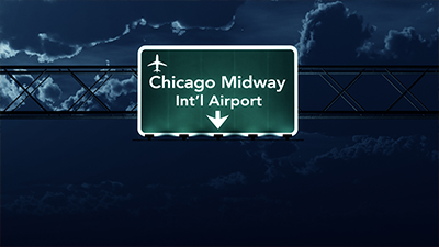Chicago Midway Car Transportation